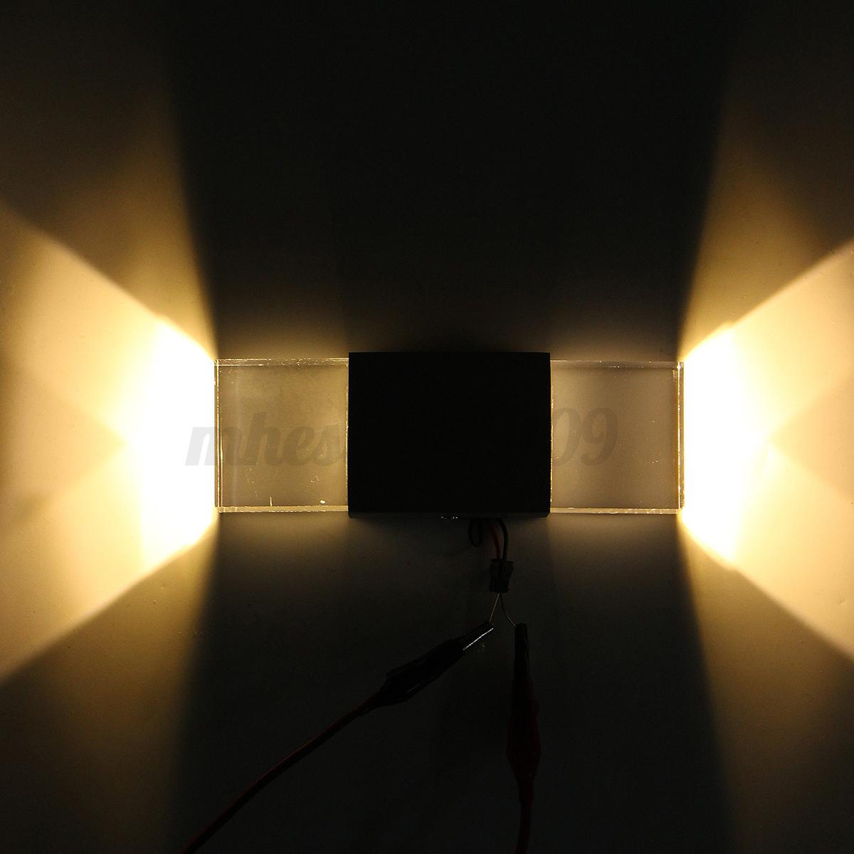 modern 2w led wall light up down lamp