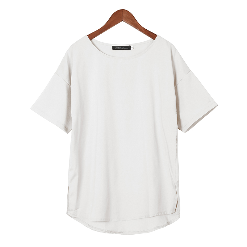 ZANZEA-8-24-Women-Basic-Tee-T-Shirt-Blouse-Tunic-Pullover-Baggy-Plus-Size-Top
