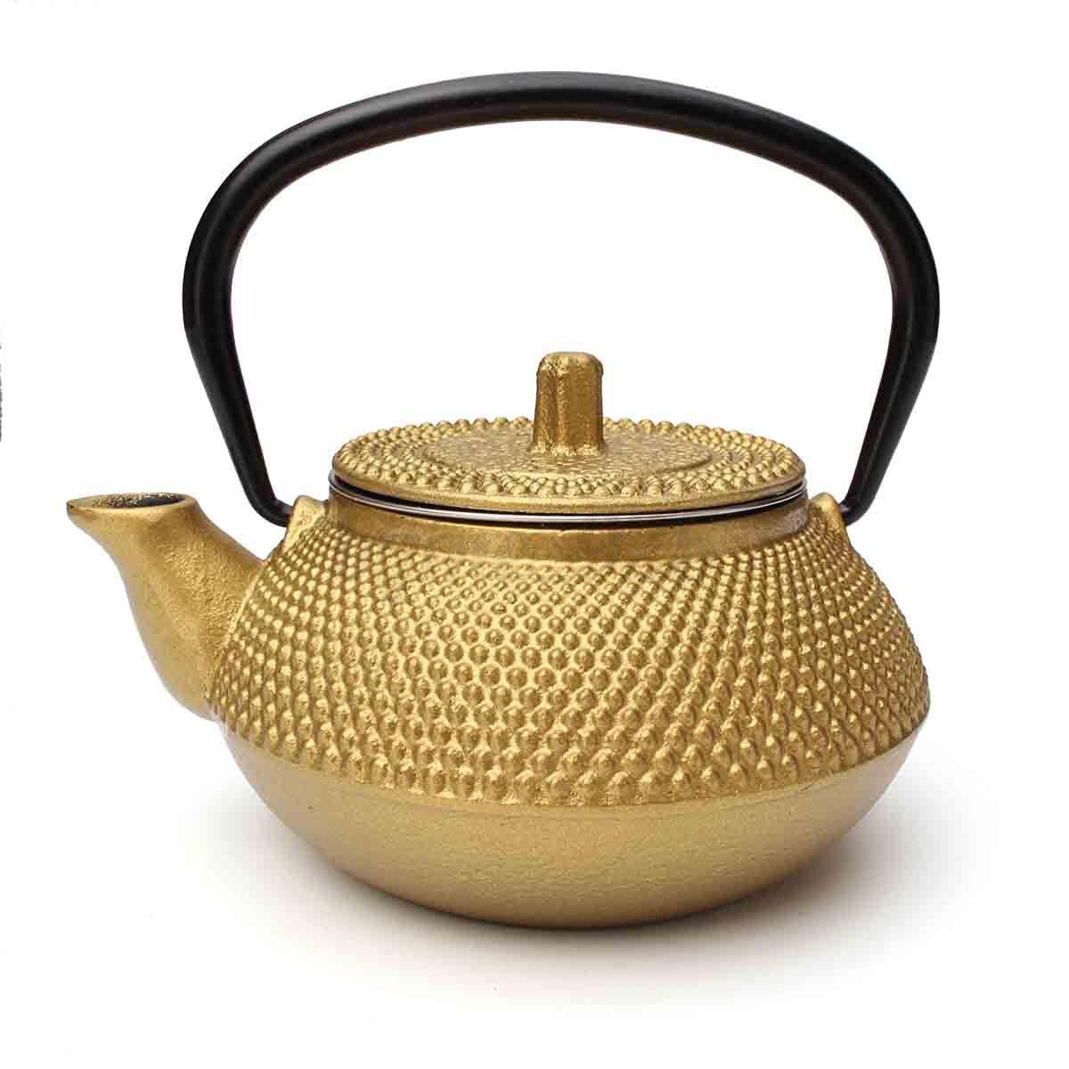 Japanese style cast iron kettle tetsubin teapot comes w strainer tea pot 300ml ebay - Japanese teapot with strainer ...