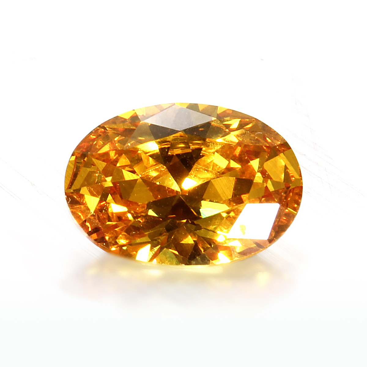 Unheated Gem Yellow Sapphire Oval Shape AAA Natural Loose ...