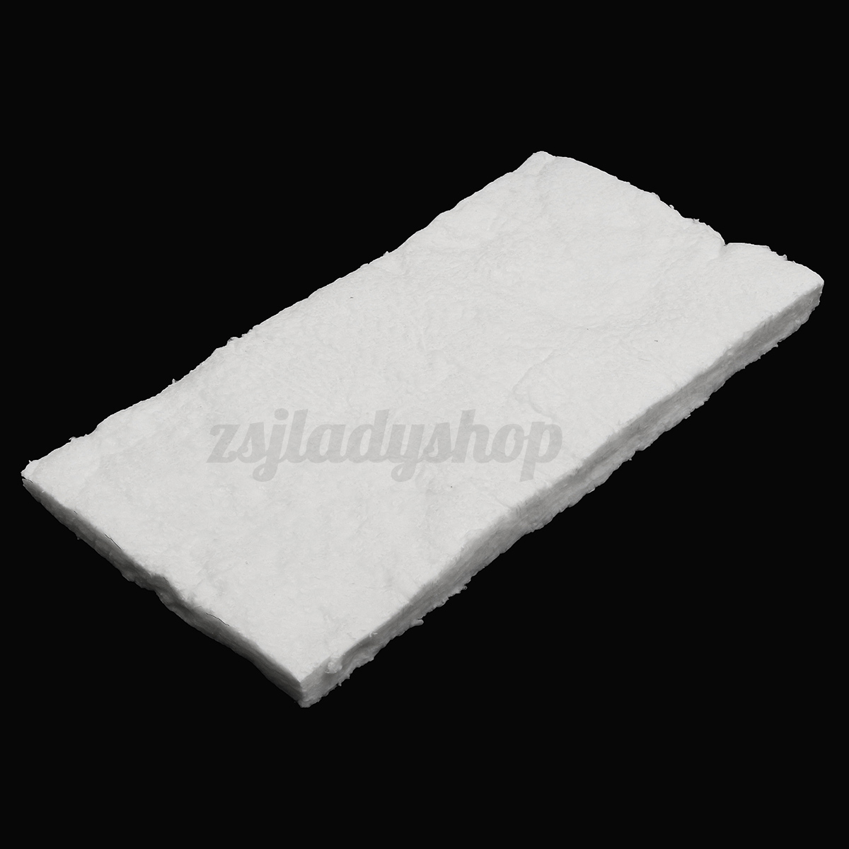 Ceramic fiber insulation mat blanket wool 2600 f for Glass fiber blanket insulation