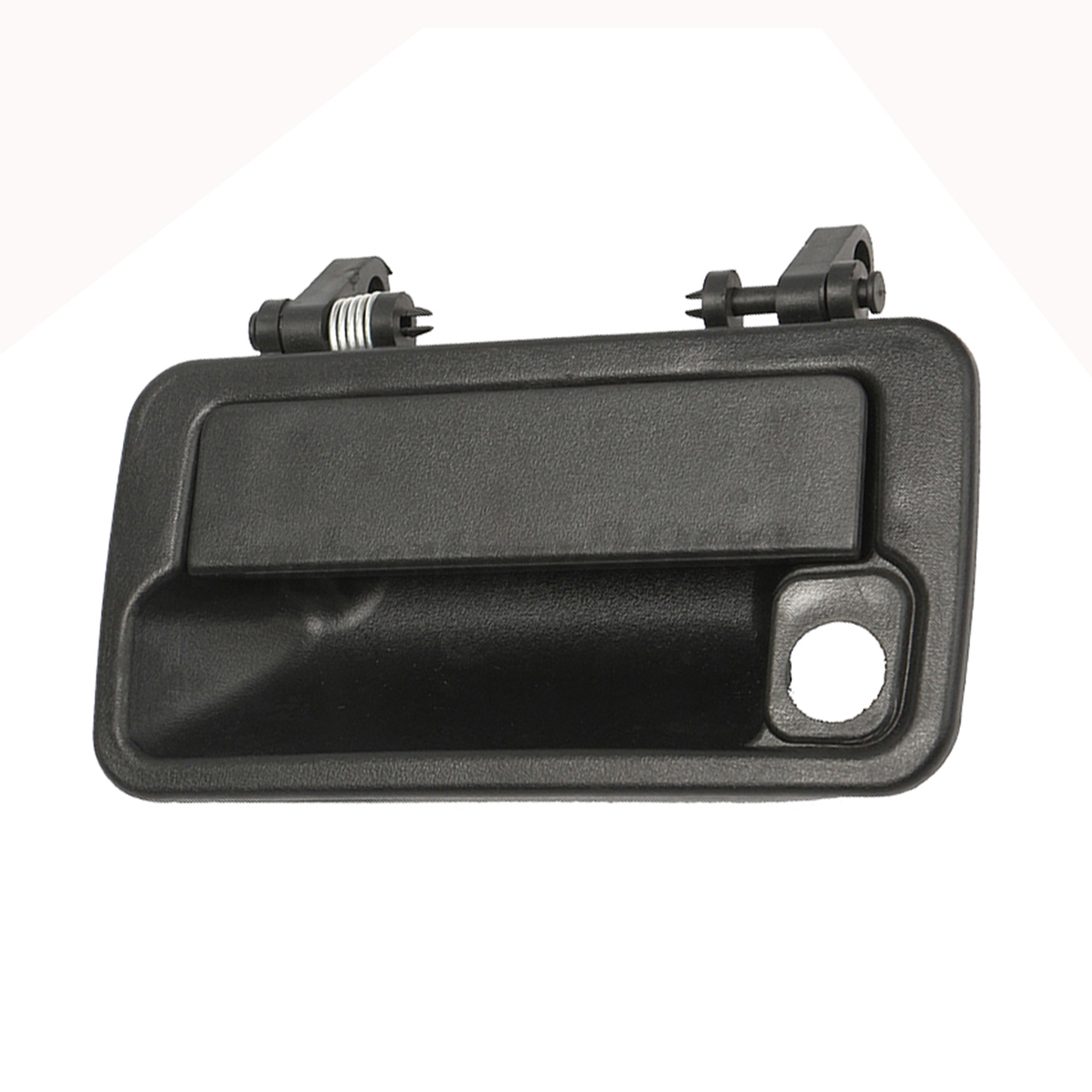 Front right driver side door exterior handle black for for Front door handle 7 5 inches