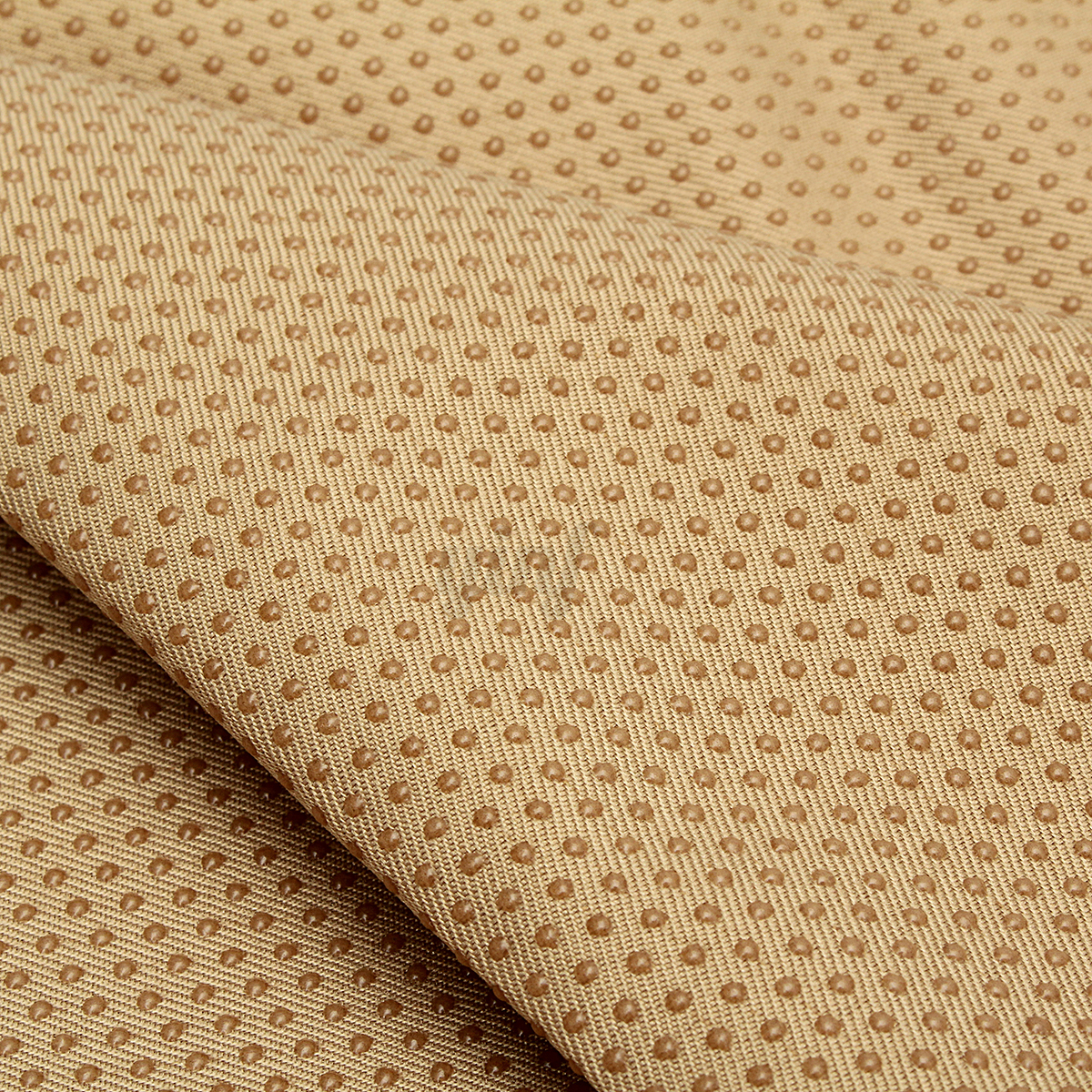 60 Anti Slip Vinyl Fabric Non Skid Dots Rubber Treated