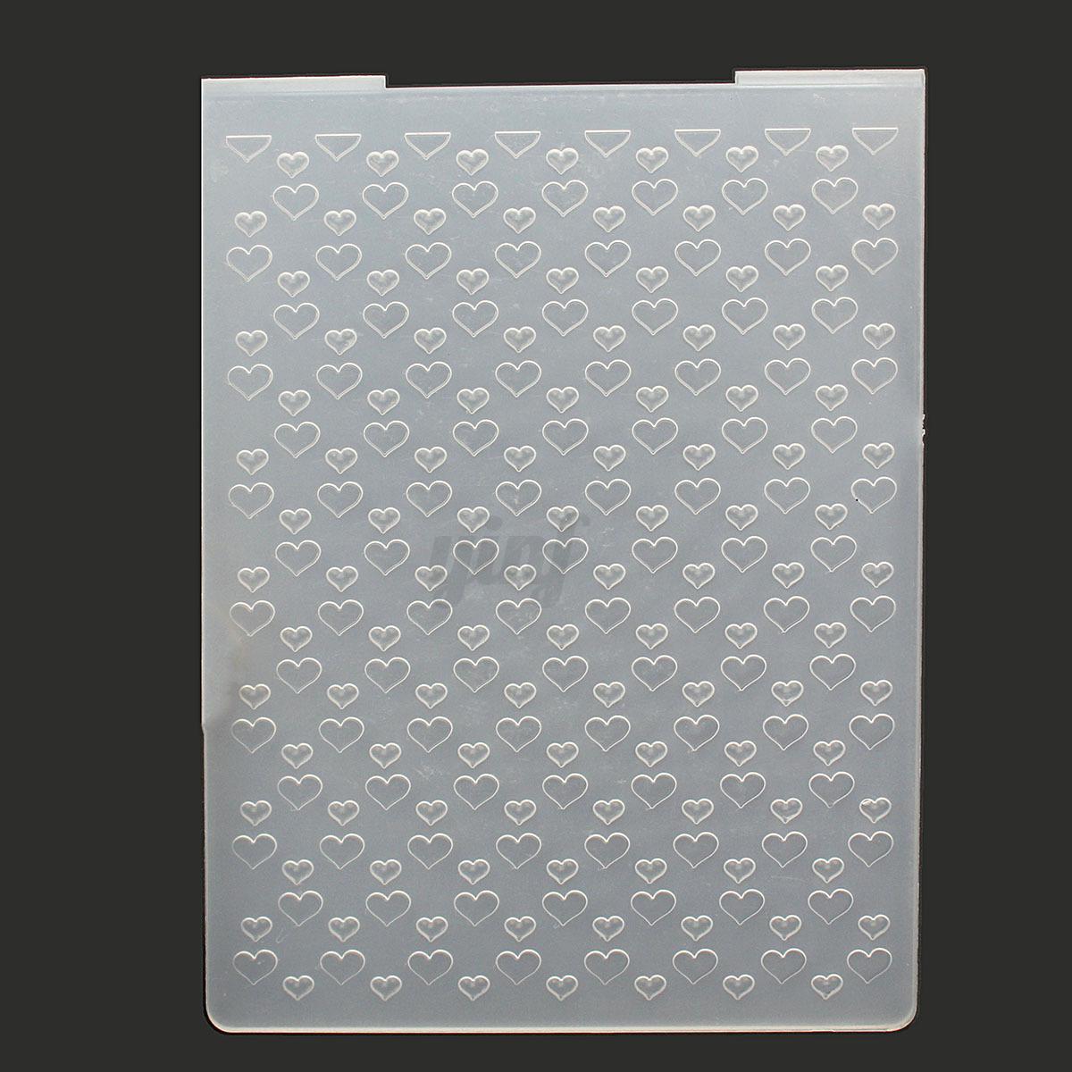 Plastic Embossing Folder DIY Scrapbooking Album Card Cutting Dies ...