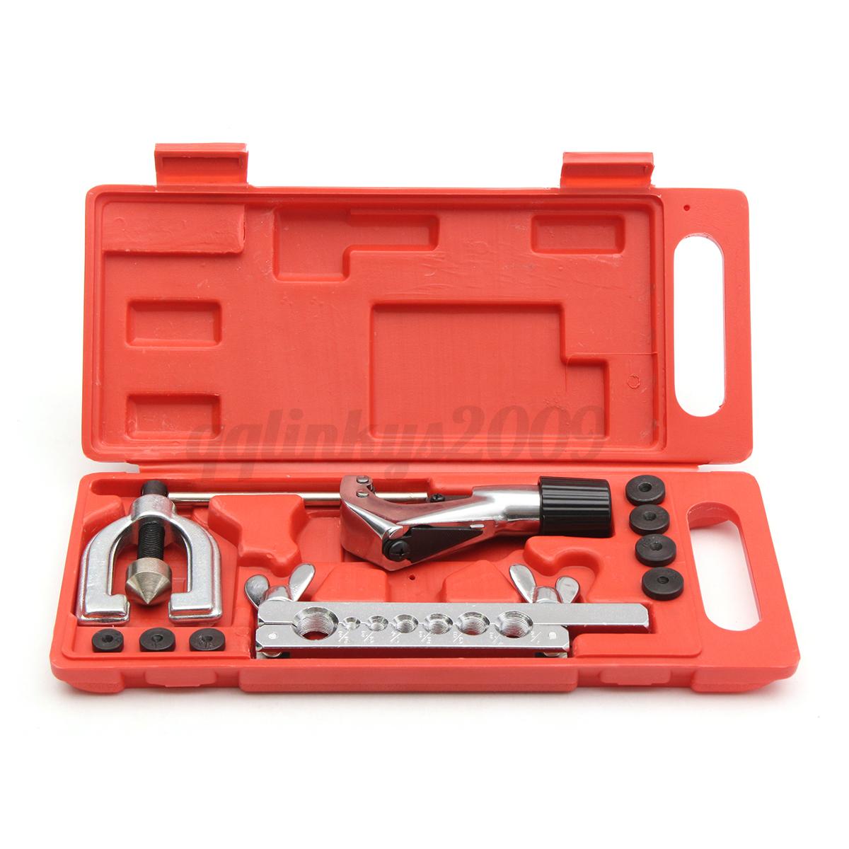 Brake Liner Tool : Au brake air line double flaring tool kit set in