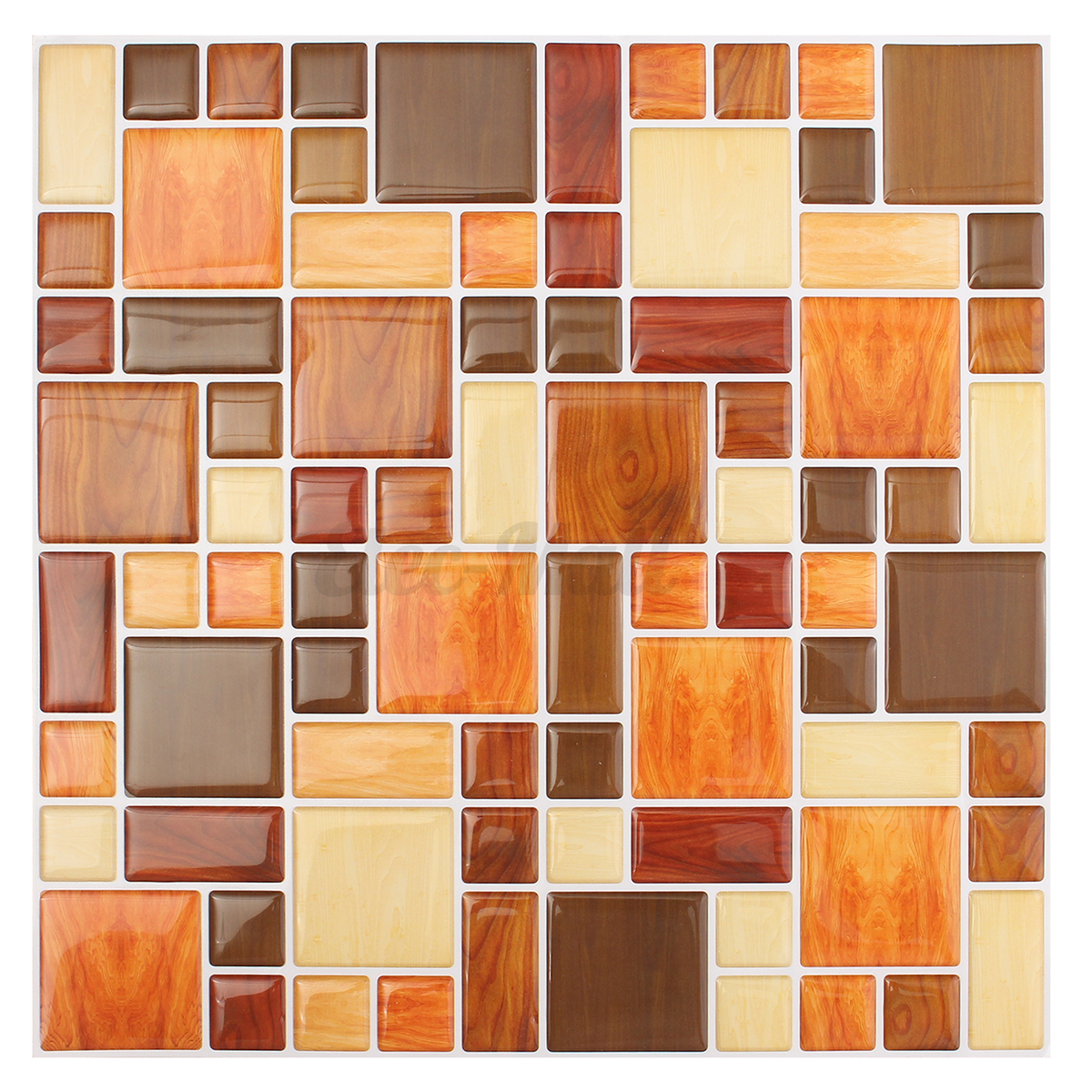 3d wallpaper sticker tile brick self adhesive mosaic