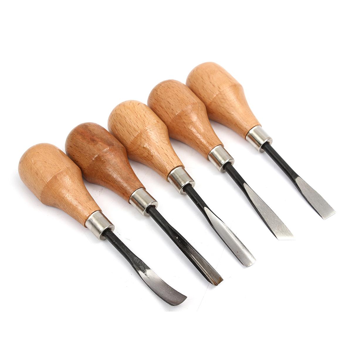 Pcs set hand wood carving chisels knife diy tools for
