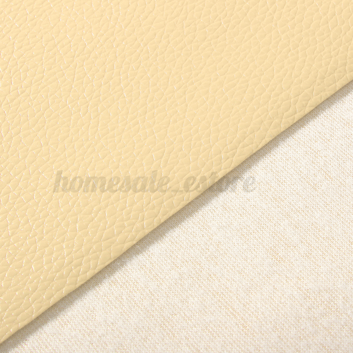 Car interior material - Pu Leather Fabric Solid Color Car Interior Upholstery