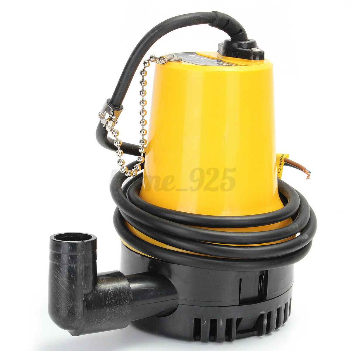 12v 50w 1110gph submersible water pump clean clear dirty for Water pump to drain pond