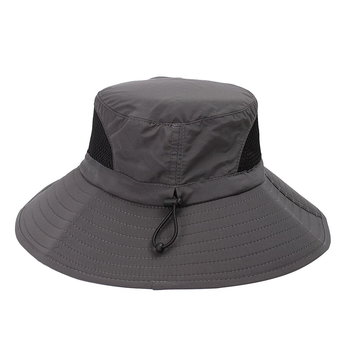 Hot mens women wide brim outdoor camping fishing caps sun for Womens fishing hat