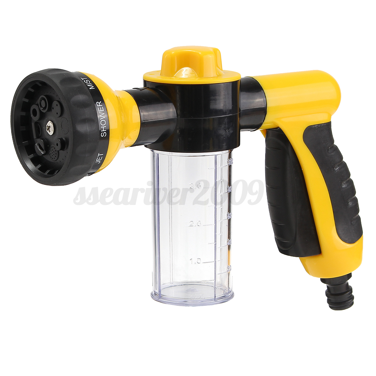 In jet nozzle spray head gun soap dispenser garden