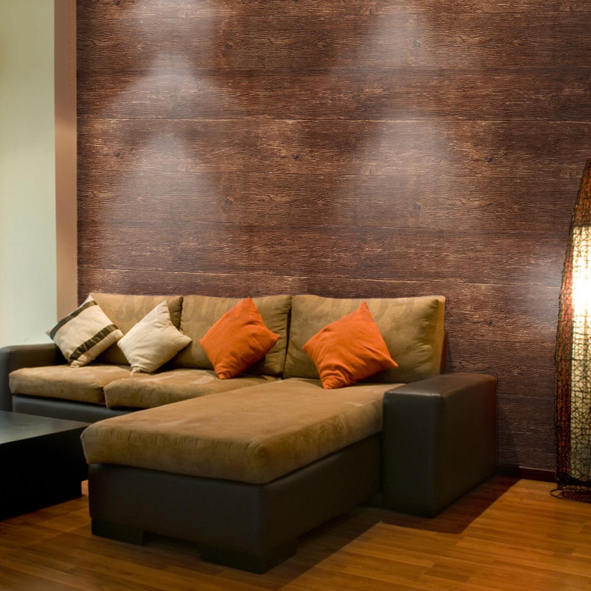 10m 3d papier peint murale mur wallpaper tv fond diy. Black Bedroom Furniture Sets. Home Design Ideas