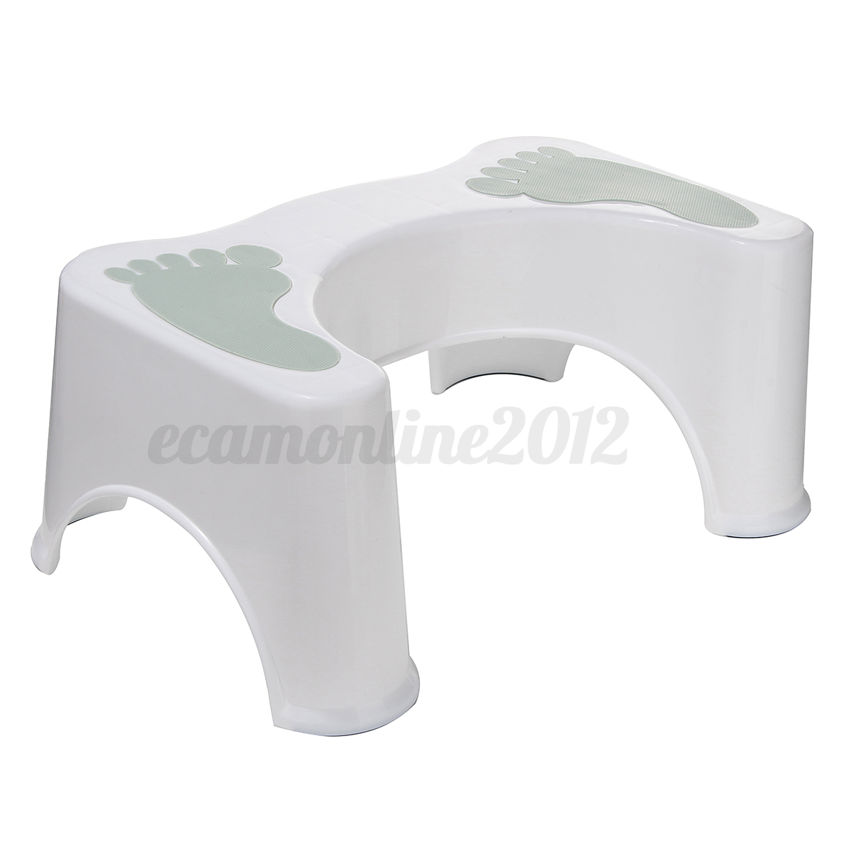 Non slip squatty potty toilet step stool bathroom aid - How to use the bathroom when constipated ...