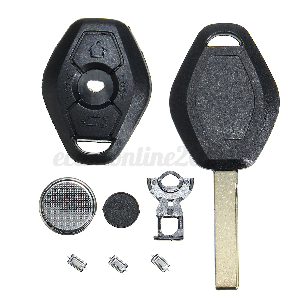 Bmw Z3 Key Fob: 3-Button Remote Key Fob Case Repair For BMW E46 3 5 7 Z3