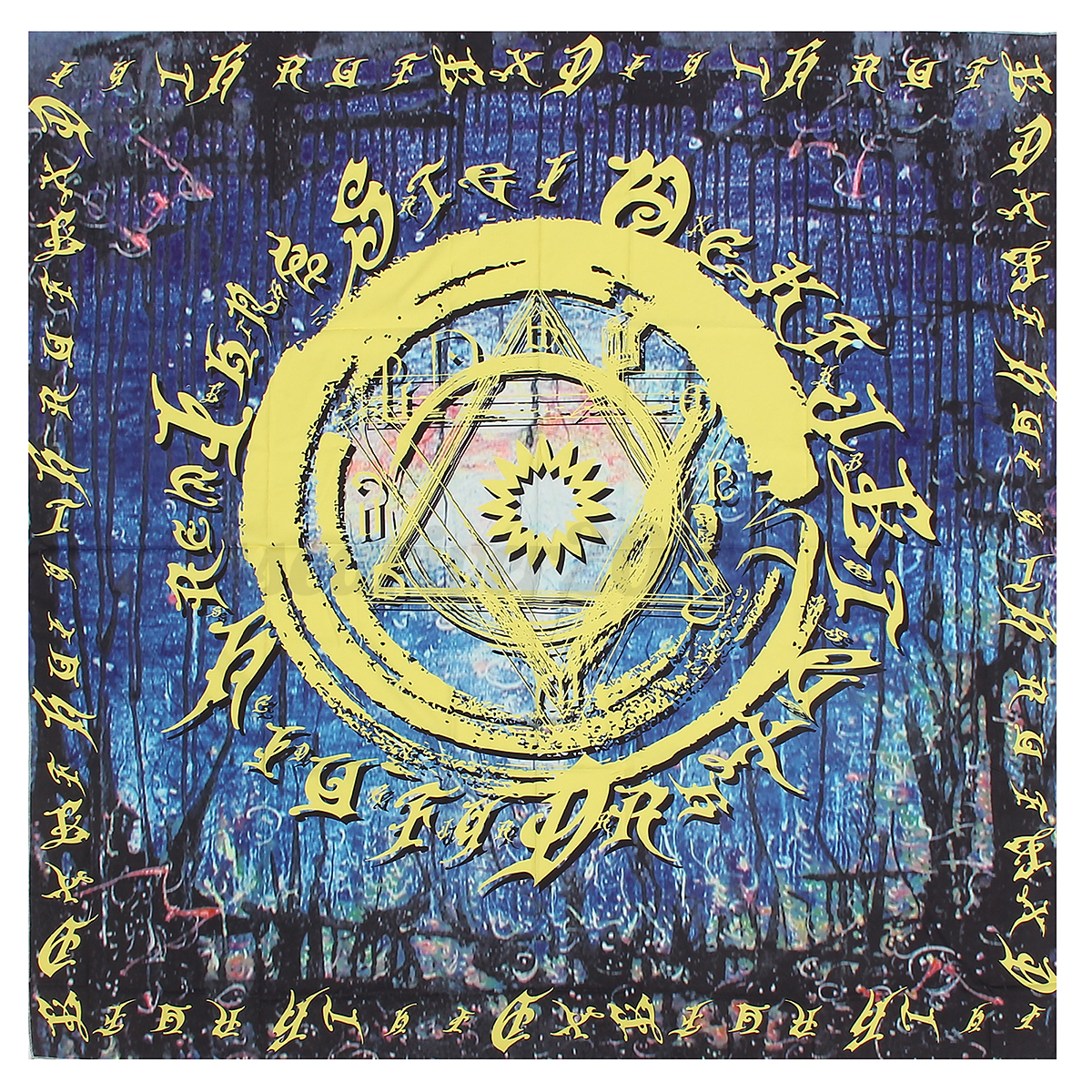 Hippie Bohemian Mandala Tapestry Wall Hanging Throw