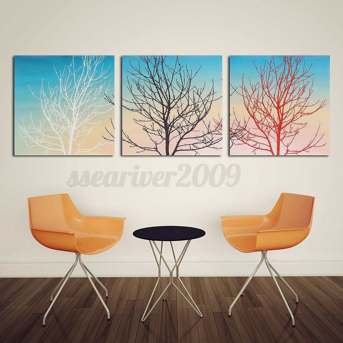 3 panels modern canvas art oil painting picture print home w