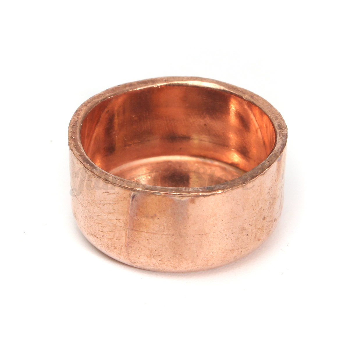 Copper pipe tube stop end feed caps plumbing fittings
