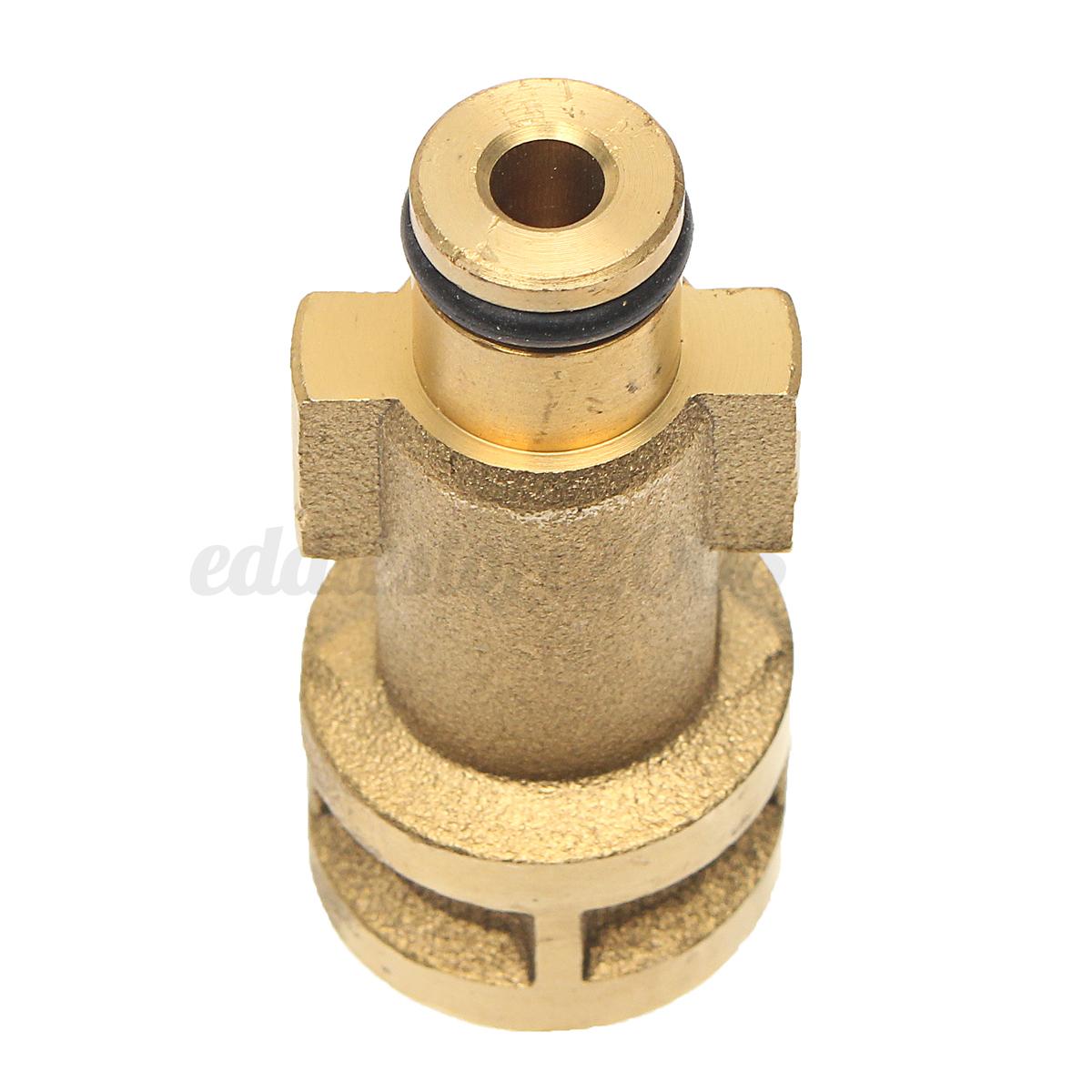 car pressure washer brass snow foam lance gun 1 4 adapter