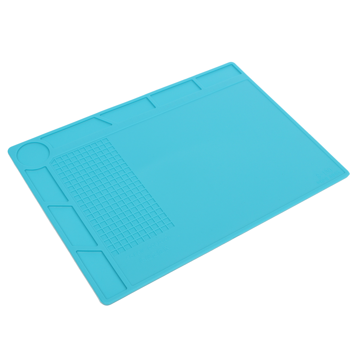 Scaffold Desk Mat : Silicone heat insulation pad desk mat repair maintenance