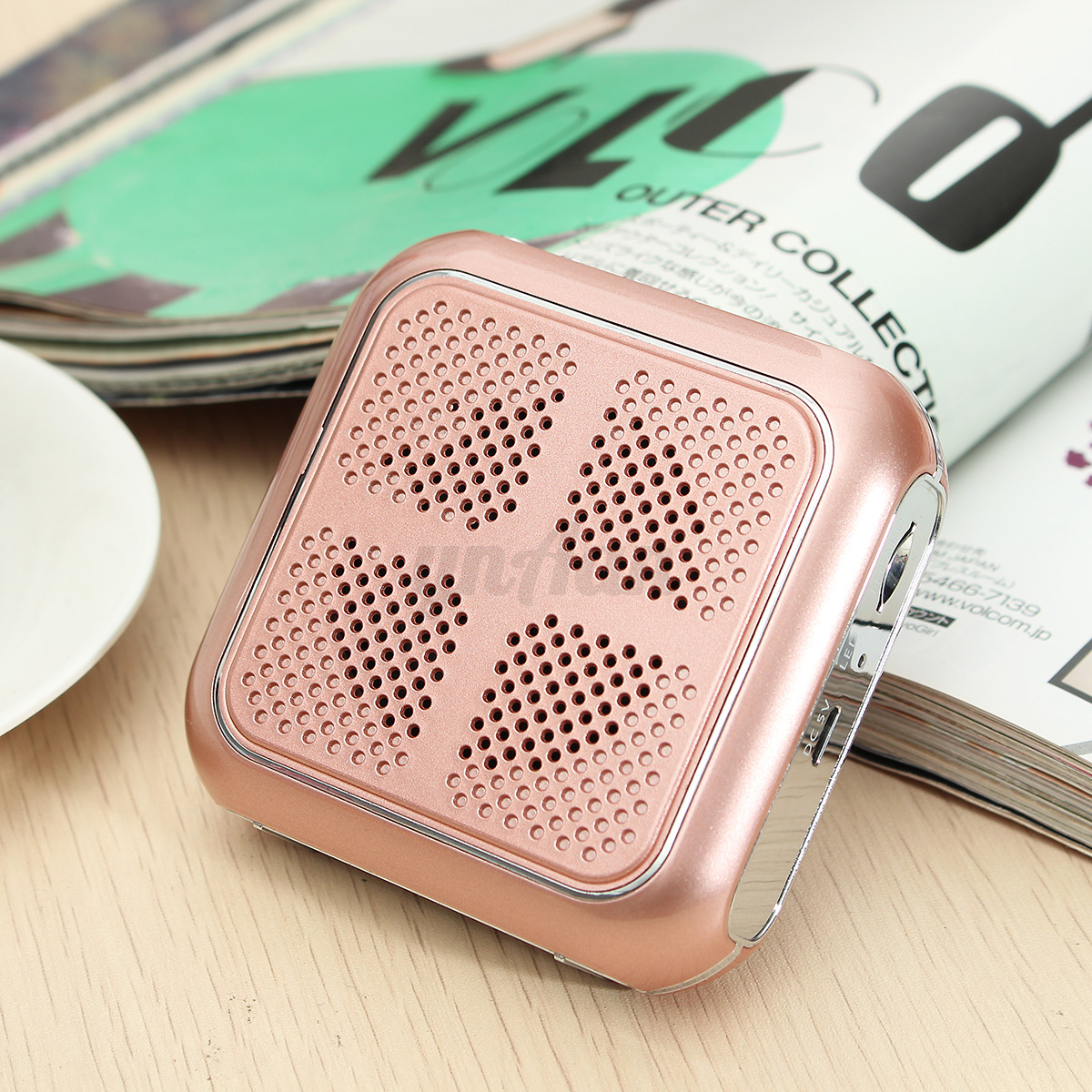 portable m 86 small bee voice booster pa amplifier speaker loudspeaker usb cable for sale online. Black Bedroom Furniture Sets. Home Design Ideas