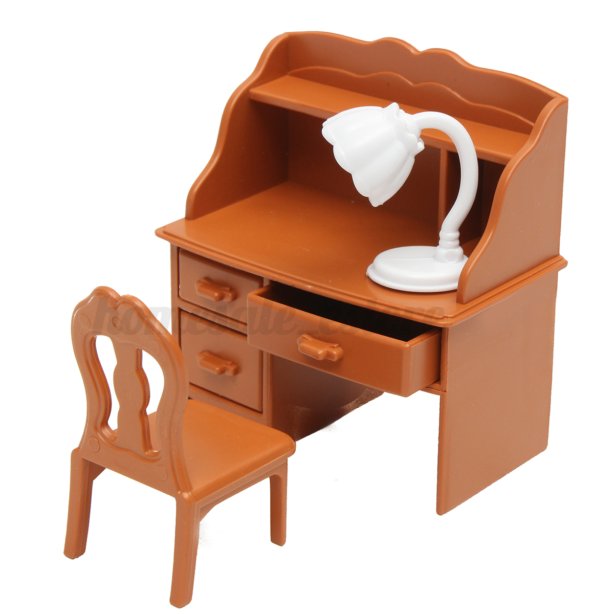 Vintage plastic dollhouse furniture speaking