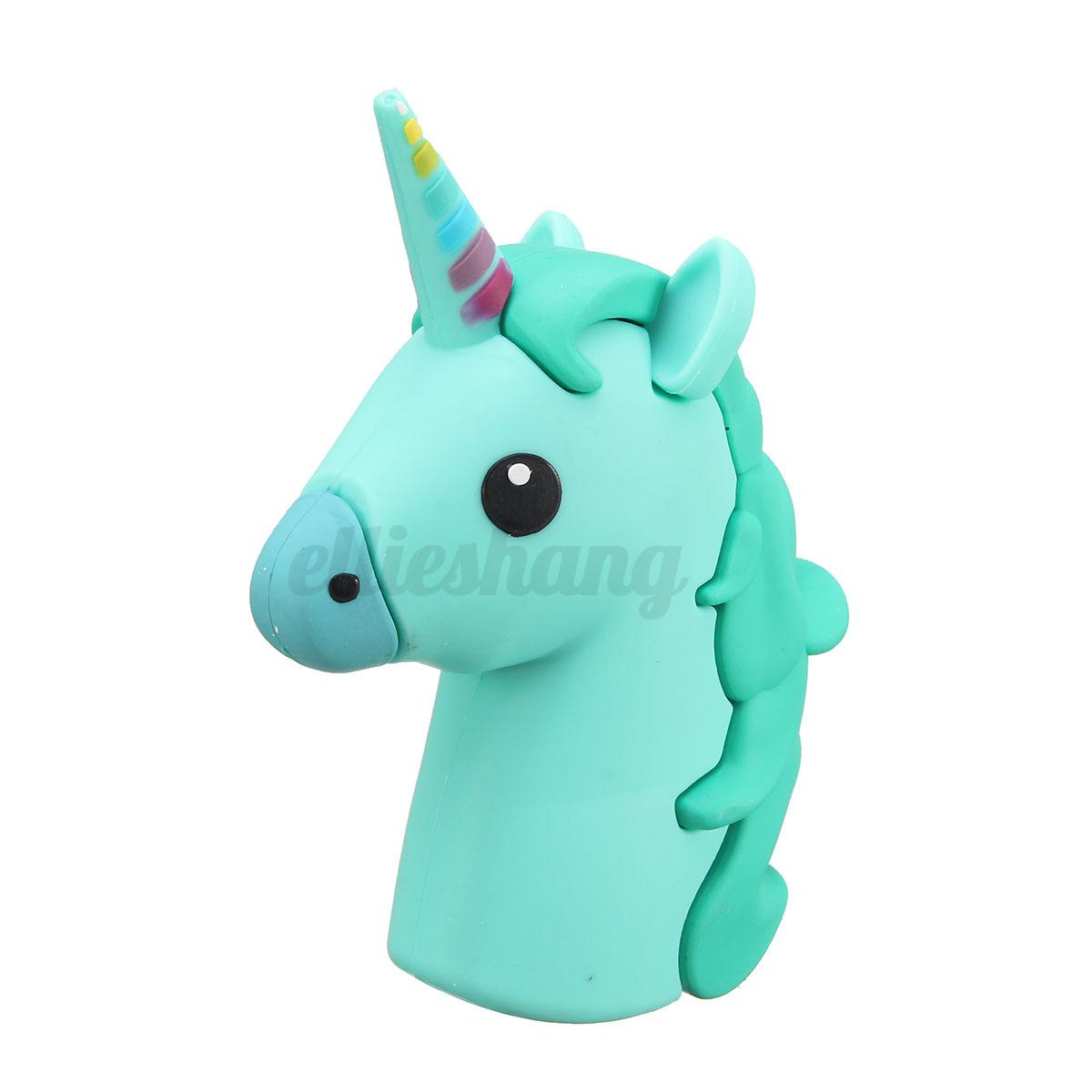 8800mah unicorn cartoon emoji portable phone charger power bank