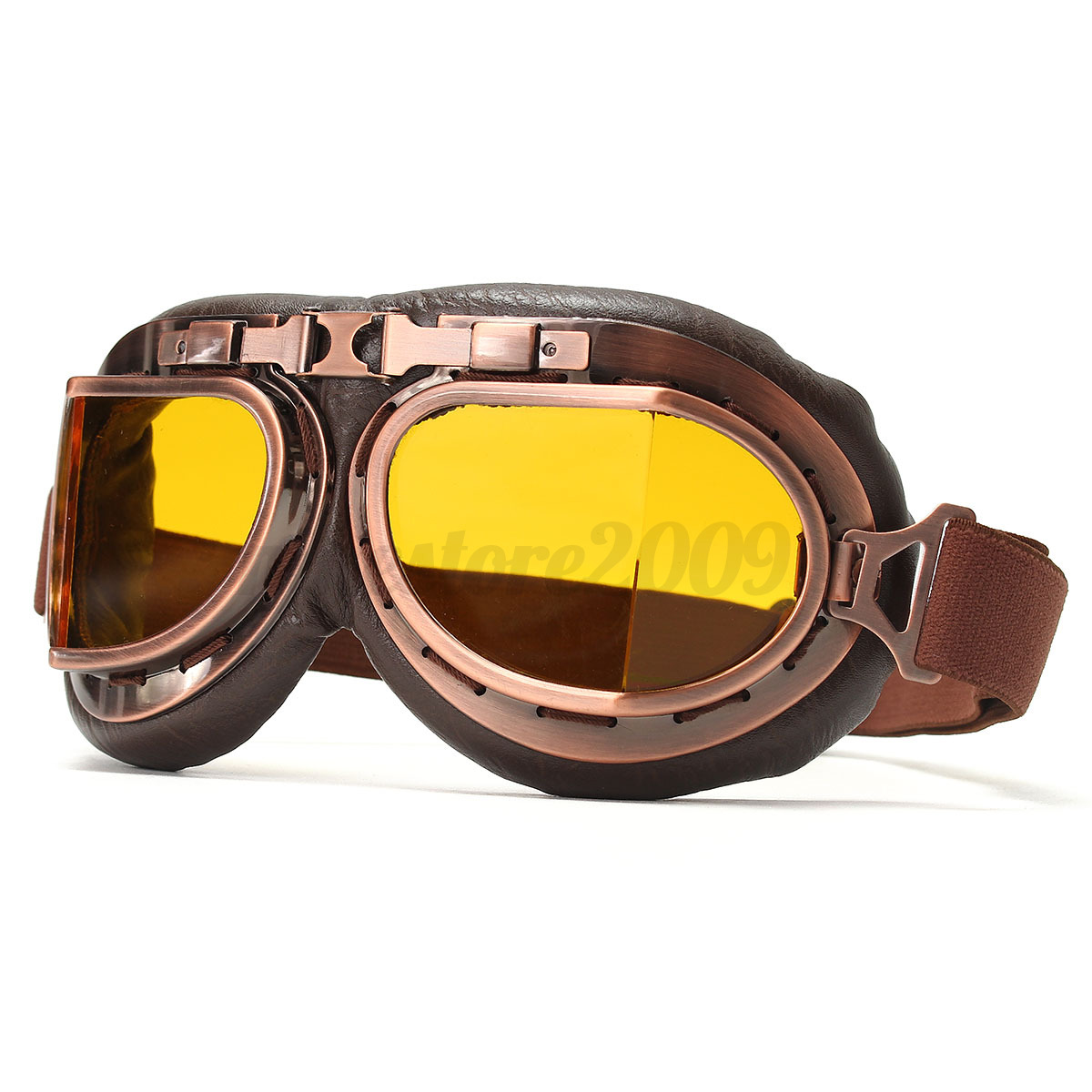 Vintage Aviator Motorcycle Goggles