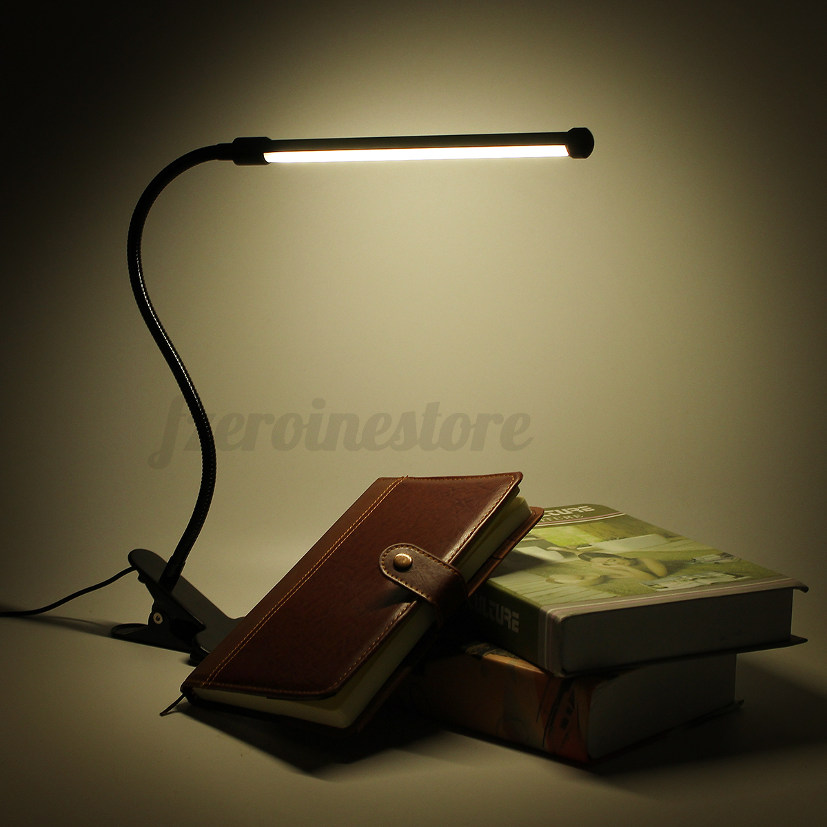 Flexible USB LED Lamp Clip On Table Reading/Study/ Bed/Laptop/Des K. Full resolution‎  pic, nominally Width 1200 Height 1200 pixels, pic with #919338.